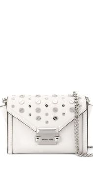 Whitney Studded Satchel Bag - Michael Kors Collection