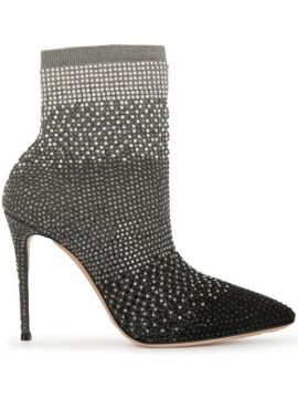 Pointed-toe Ankle Boots - Casadei