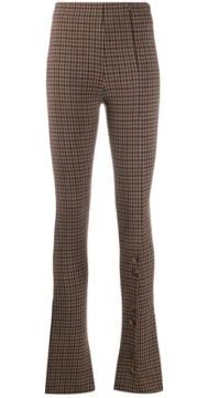 Flared Check Trousers - A.w.a.k.e. Mode