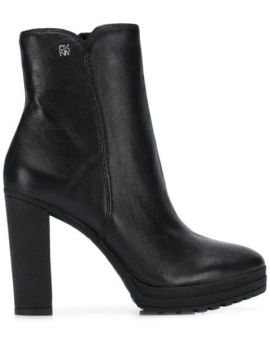Ankle Leather Booties - Dkny