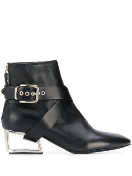 Cut-out Heel Ankle Boots - Premiata