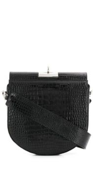 Crocodile Effect Shoulder Bag - Gude