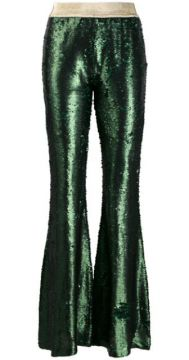 Sequin Flared Trousers - Amuse
