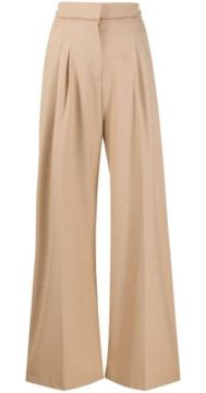 High-waisted Wide Leg Trousers - Alysi