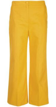Cropped Wide Leg Trousers - Alexa Chung