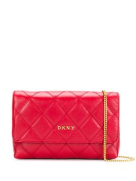Sofia Quilted-effect Crossbody Bag - Dkny