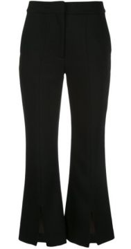 Tropical Bell Cropped Trousers - Adam Lippes
