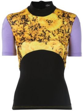 Contrast Panel Fitted Top - Richard Quinn