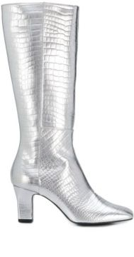 Metallic Pointed Boots - Les Petits Joueurs