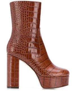 Platform Ankle Boots - Paris Texas