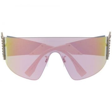 Crystal-embellished Sunglasses - Fendi Eyewear