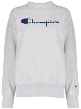 Logo Embroidered Sweatshirt - Champion