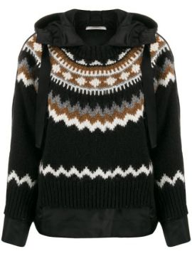 Oversized Layered-effect Hoodie - Dorothee Schumacher
