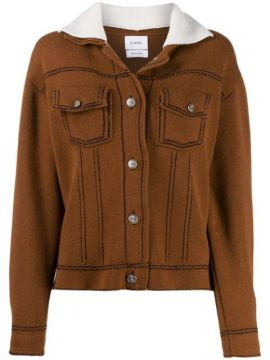 Sherpa Collar Knitted Jacket - Barrie