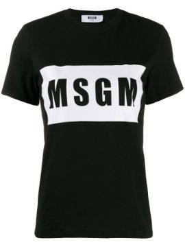 Box Logo T-shirt - Msgm
