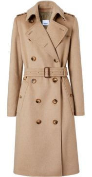 Cashmere Trench Coat - Burberry