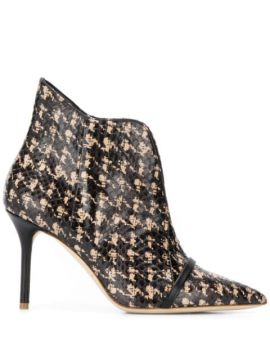 Cora Patterned Booties - Malone Souliers