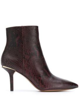 Keke Embossed Ankle Boots - Michael Kors Collection