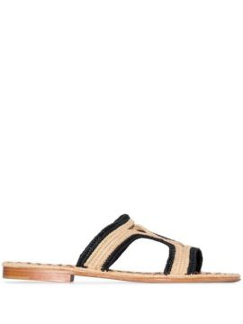 Moha Two-tone Sandals - Carrie Forbes