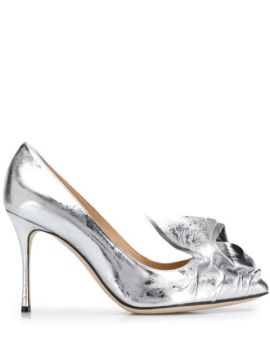 95mm Ruched Effect Pumps - Sergio Rossi