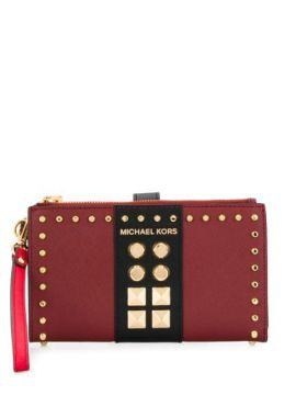 Adele Multi-compartment Studded Wallet - Michael Kors Collec