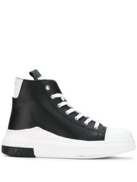 Lace-up Hi-top Sneakers - Cinzia Araia