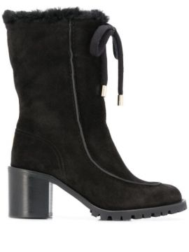 Buffy 65 Suede Boots - Jimmy Choo