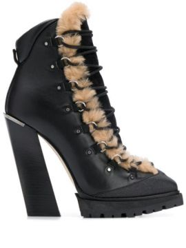 Madyn 130mm Lace-up Boots - Jimmy Choo