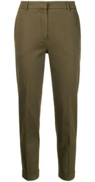 High Rise Cropped Trousers - Antonelli