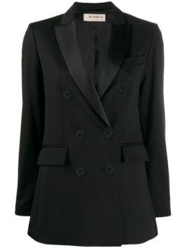 Tailored Double-breasted Blazer - Blanca