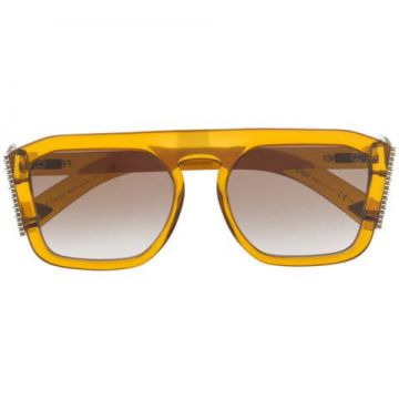 Embellished Square-frame Sunglasses - Fendi Eyewear