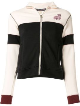 Colour Block Zip Jacket - Alexa Chung