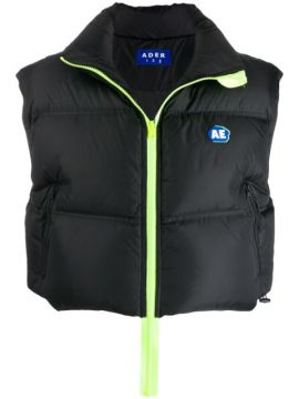 Cropped Puffer Gilet - Ader Error