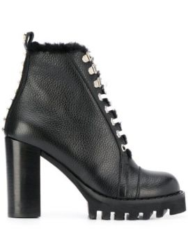 Star Studded Ankle Boots - Philipp Plein