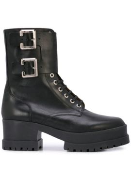 Willy Buckled Boots - Clergerie