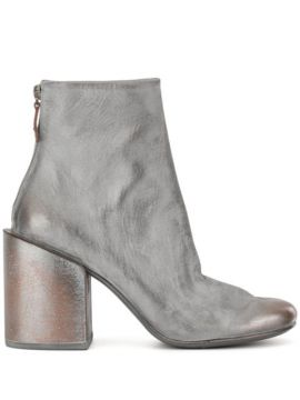 Chunky Heel Ankle Boots - Marsèll