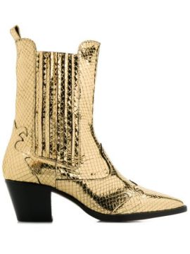Texano Metallic Boots - Paris Texas