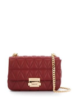Sloan Quilted-effect Shoulder Bag - Michael Kors Collection