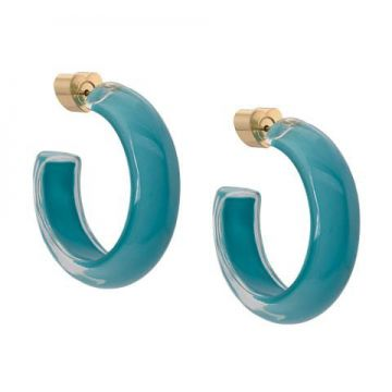 Small Loucite Jelly Hoops - Alison Lou