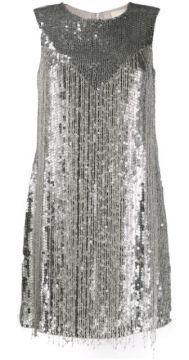 Sequin Fringe Dress - Aniye By