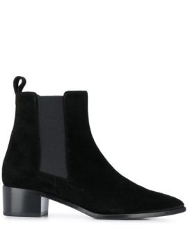 Lou Suede Ankle Boots - Aeyde