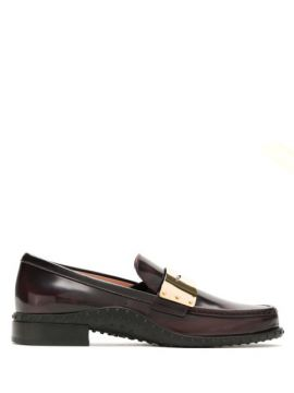 Loafer Gomma De Couro - Tods
