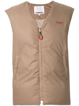 Zip-front Padded Gilet - Ground Zero