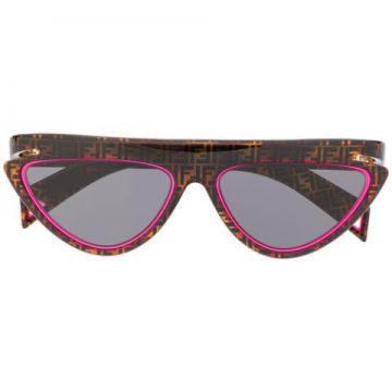 Ffluo Cat-eye Frame Sunglasses - Fendi Eyewear