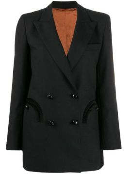 Fitted Double-breasted Blazer - Blazé Milano