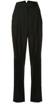 Panelled High-waisted Trousers - Haider Ackermann
