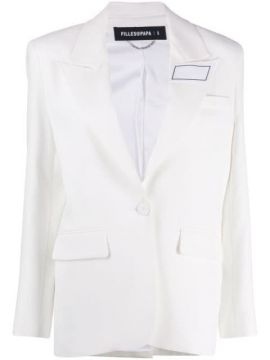 Rubik Single-breasted Blazer - Filles A Papa
