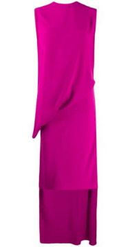 Wrap Flamenco Jersey Dress - Esteban Cortazar