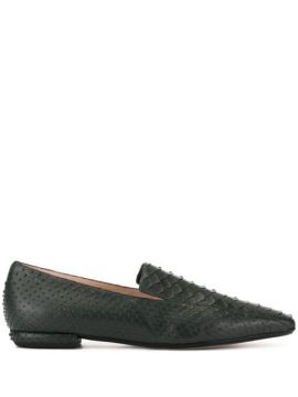 Snakeskin-effect Loafers - Rodo