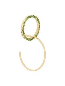 Embellished Hoop Earrings - Delfina Delettrez